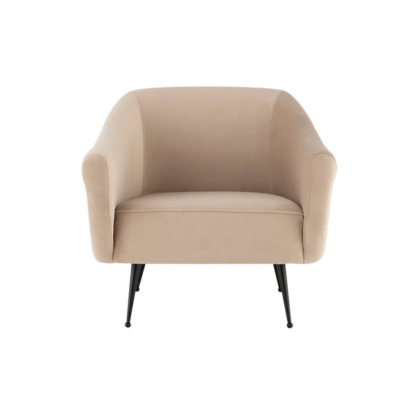crown and birch megan occasional chair nude front