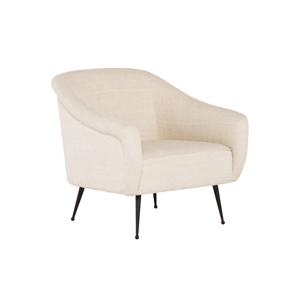 crown and birch megan occasional chair sand angle