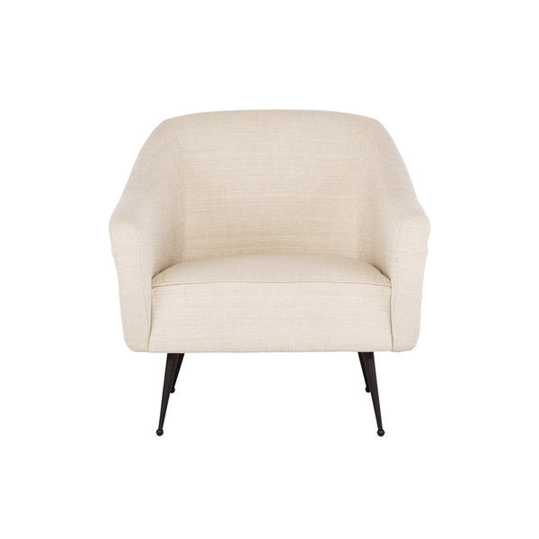 crown and birch megan occasional chair sand front
