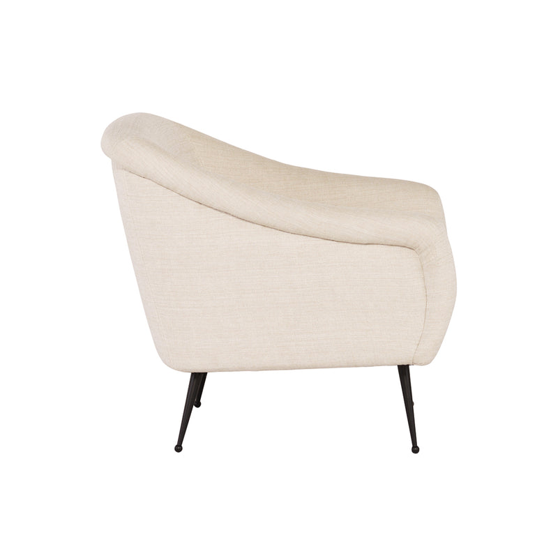 crown and birch megan occasional chair sand side