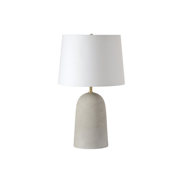 crown and birch millie table lamp front off