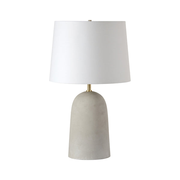 crown and birch millie table lamp front
