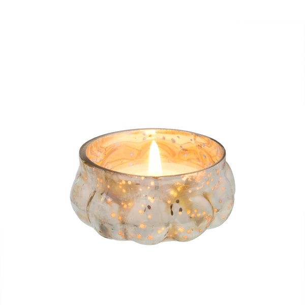 crown and birch moonlight tealight silver