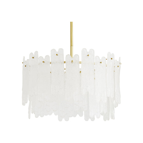 crown and birch muller chandelier clear seedy front