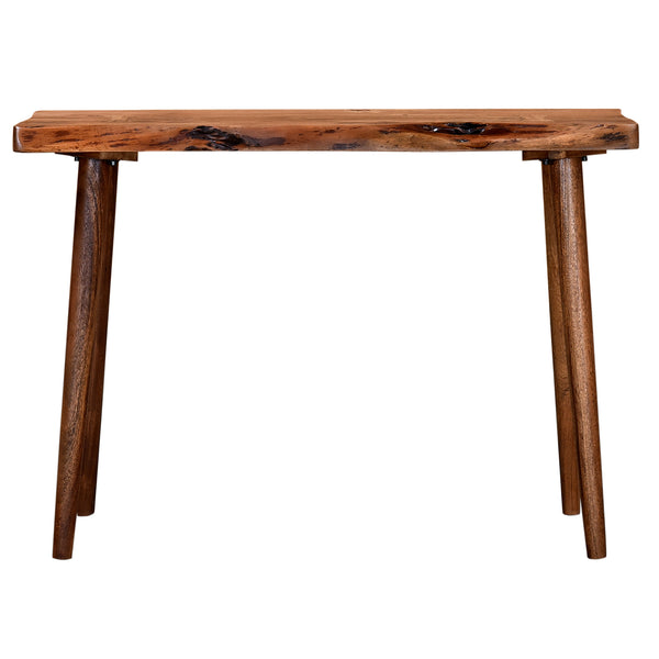 crown and birch nash walnut console front
