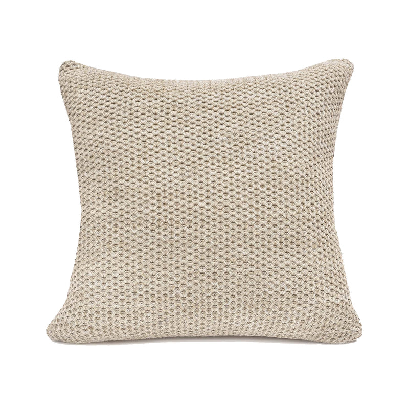 crown and birch oatmeal cotton cushion