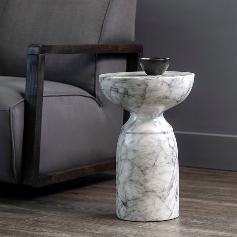 crown and birch olina side table scene