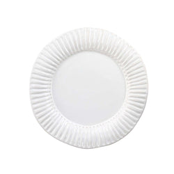 crown and birch palermo dinner plate white front