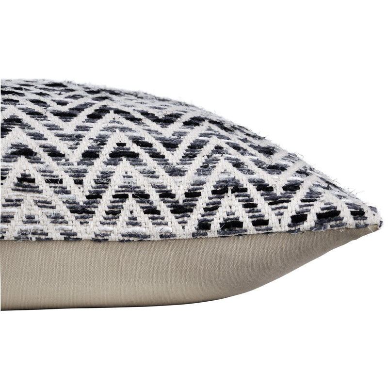 crown and birch paris black white chevron pillow corner