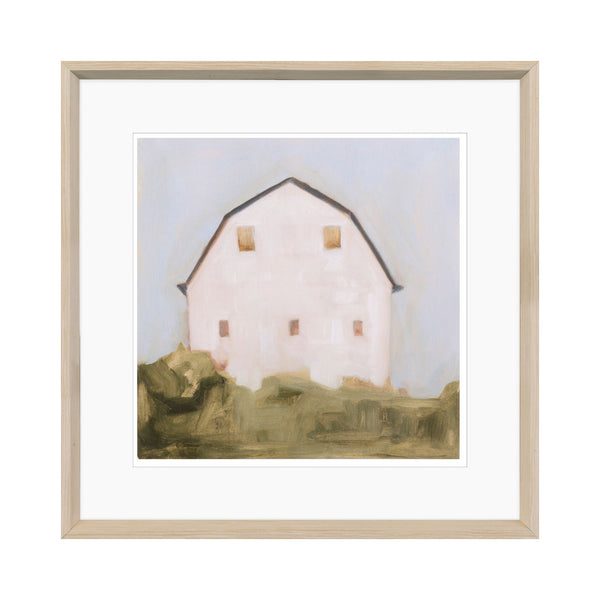 crown and birch pastel barn iii