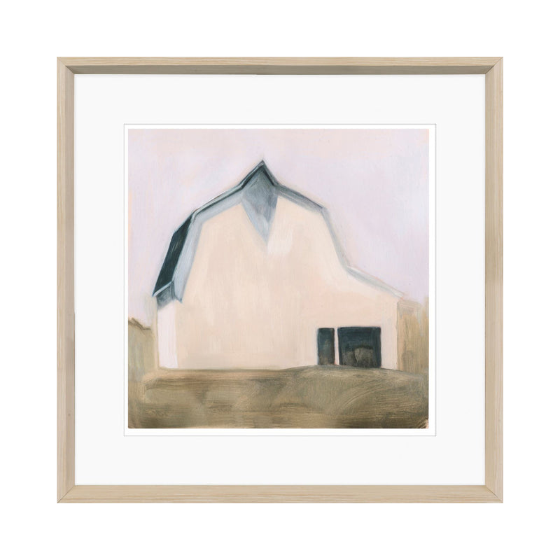 crown and birch pastel barn iv