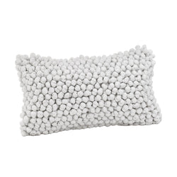 crown and birch popcorn pillow 12x22 front
