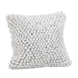 crown and birch popcorn pillow 20x20 front