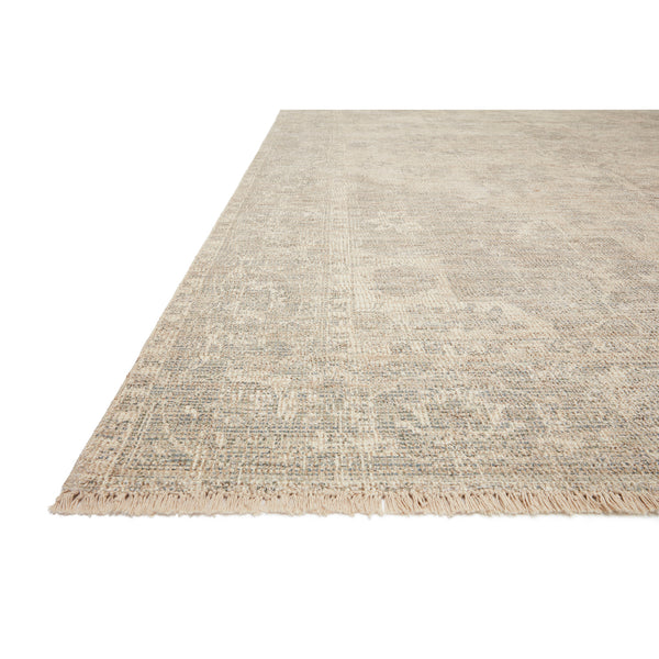 crown and birch prite rug loloi priya ivory grey detail