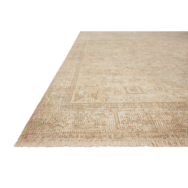 crown and birch prite rug loloi priya ocean ivory detail