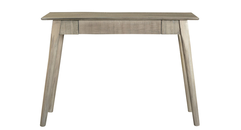 crown and birch rough light grey console front