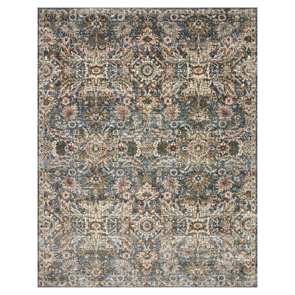 crown and birch sabas rug loloi saban blue sand front