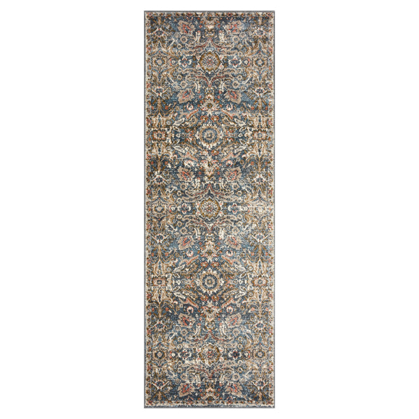 crown and birch sabas rug loloi saban blue sand runner