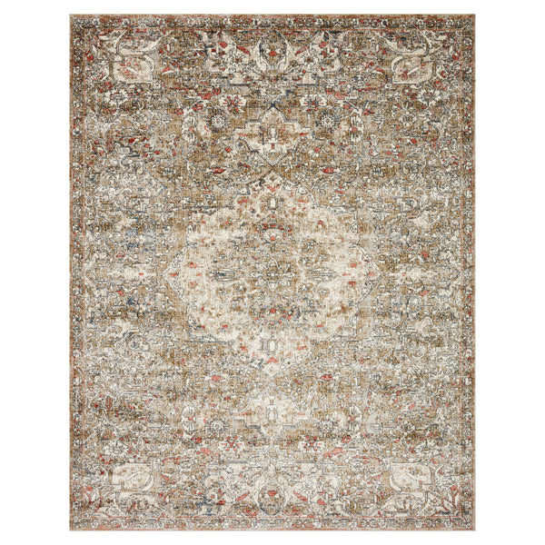 crown and birch sabas rug loloi saban straw beige front