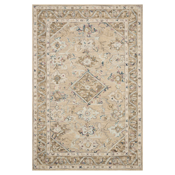 crown and birch salsbury rug beige ivory front loloi beatty