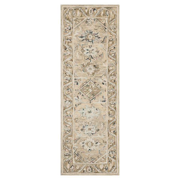 crown and birch salsbury rug beige ivory runner loloi beatty