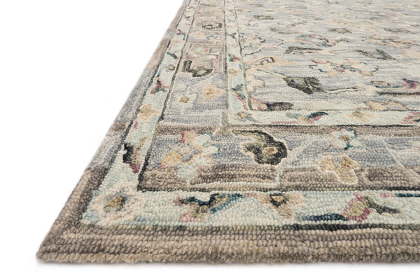 crown and birch salsbury rug light blue multi detail loloi beatty