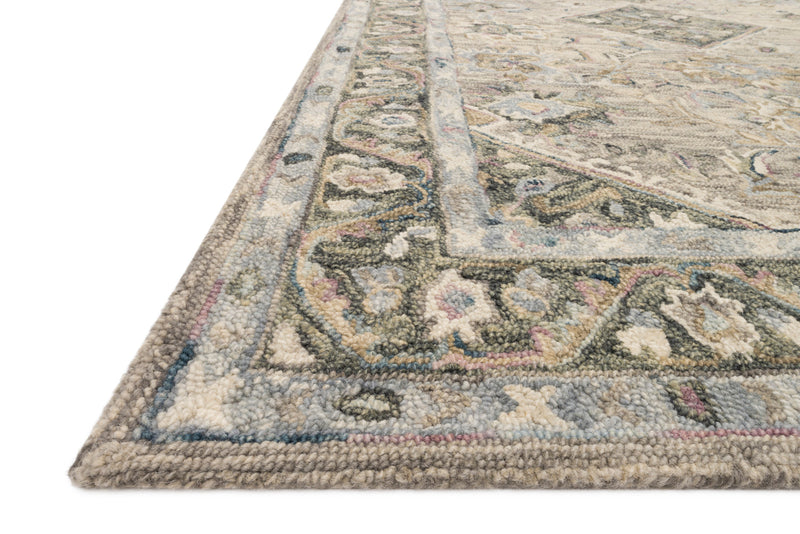 crown and birch salsbury rug sky multi detail loloi beatty