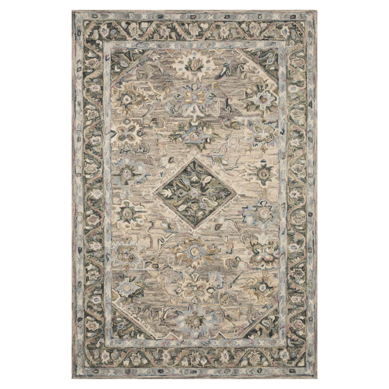 crown and birch salsbury rug sky multi front loloi beatty