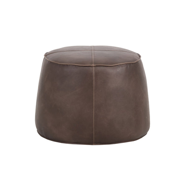 crown and birch sam ottoman dark brown back