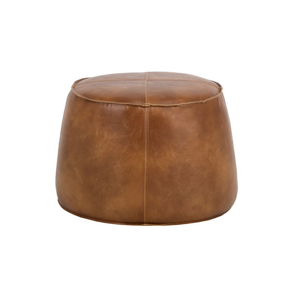 crown and birch sam ottoman tobacco tan back
