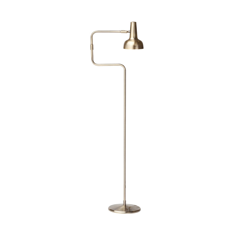 crown and birch sylvie floor lamp antique brass side