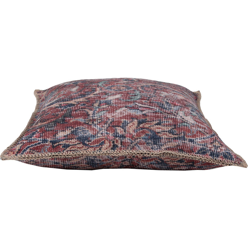 crown and birch vada paisley red blue pillow side