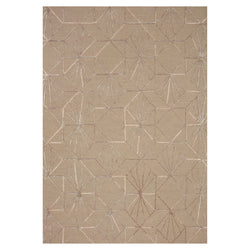 crown and birch vashti rug loloi verve sand blush front