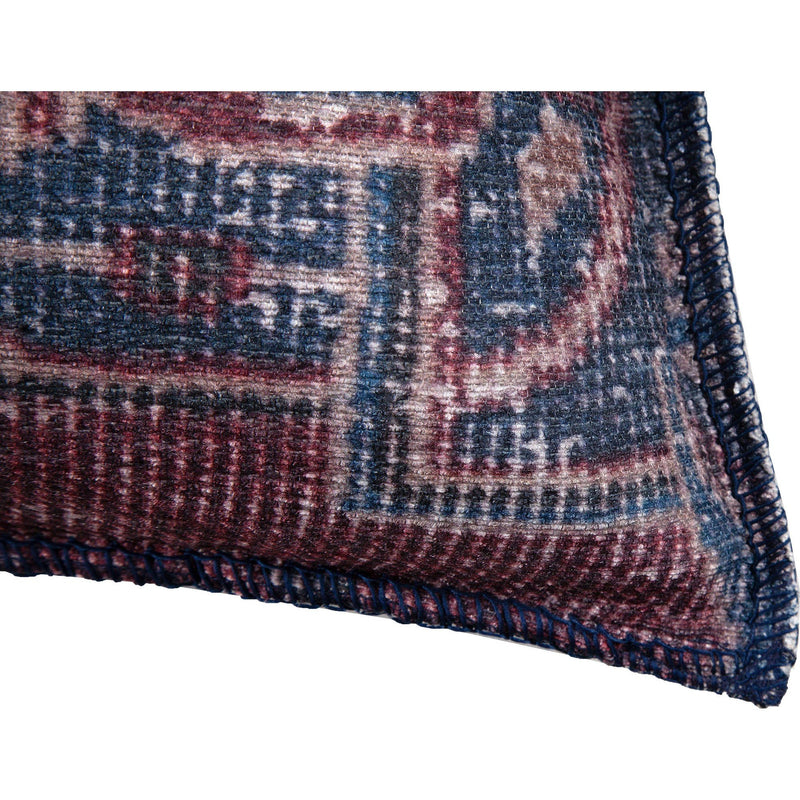 crown and birch verona purple blue traditional pillow corner