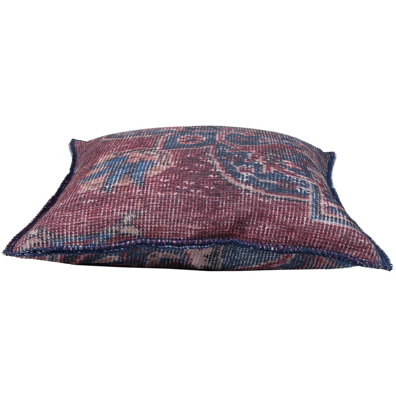 crown and birch verona purple blue traditional pillow side