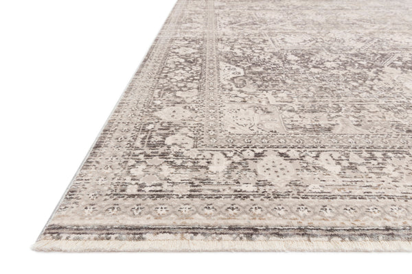 crown and birch wisteria rug loloi homage ivory grey corner