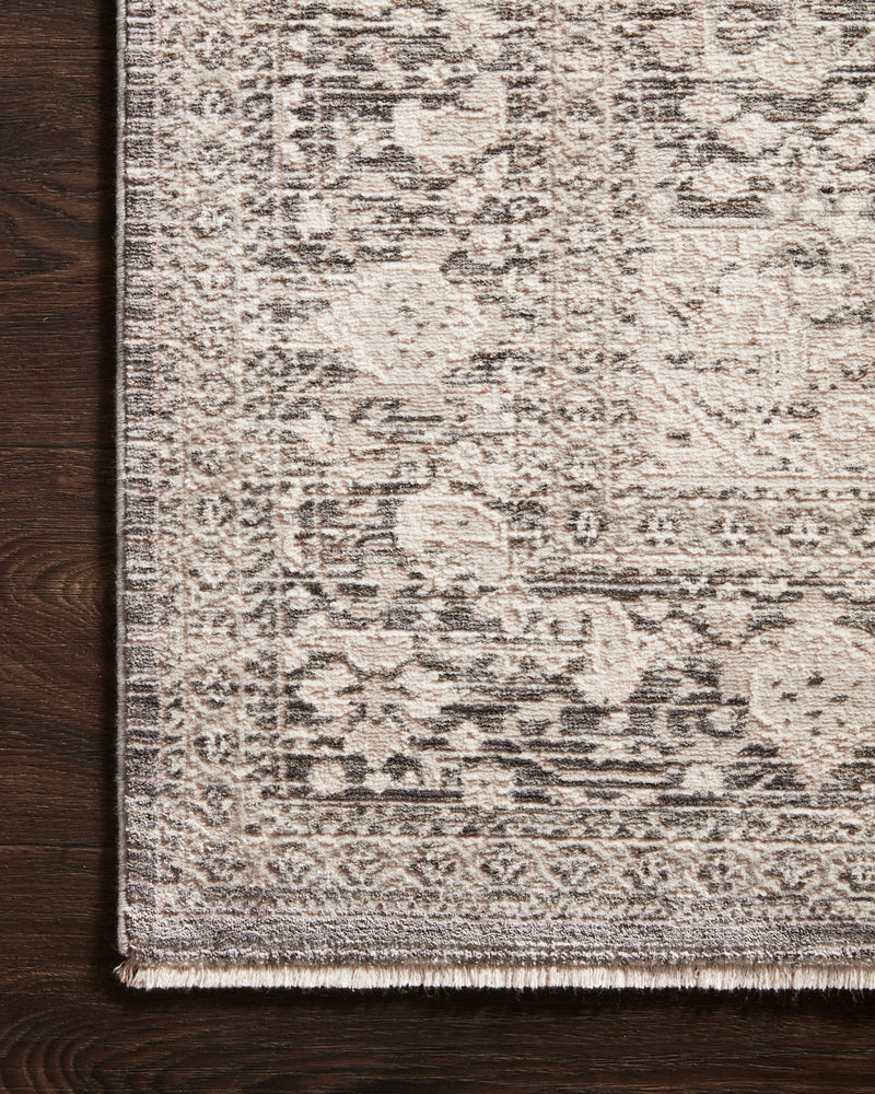 crown and birch wisteria rug loloi homage ivory grey detail