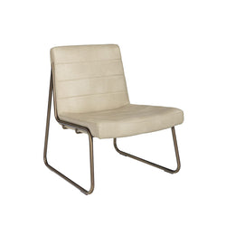 crown and birch wren occasional chair cream angle