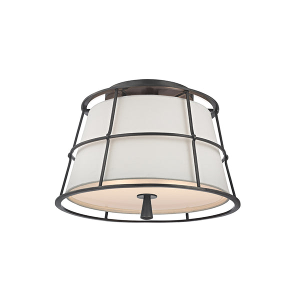 hudson valley lighting savona semi flush old bronze
