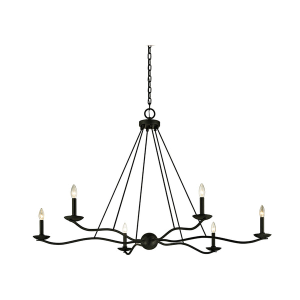 troy lighting sawyer chandelier 54 inch