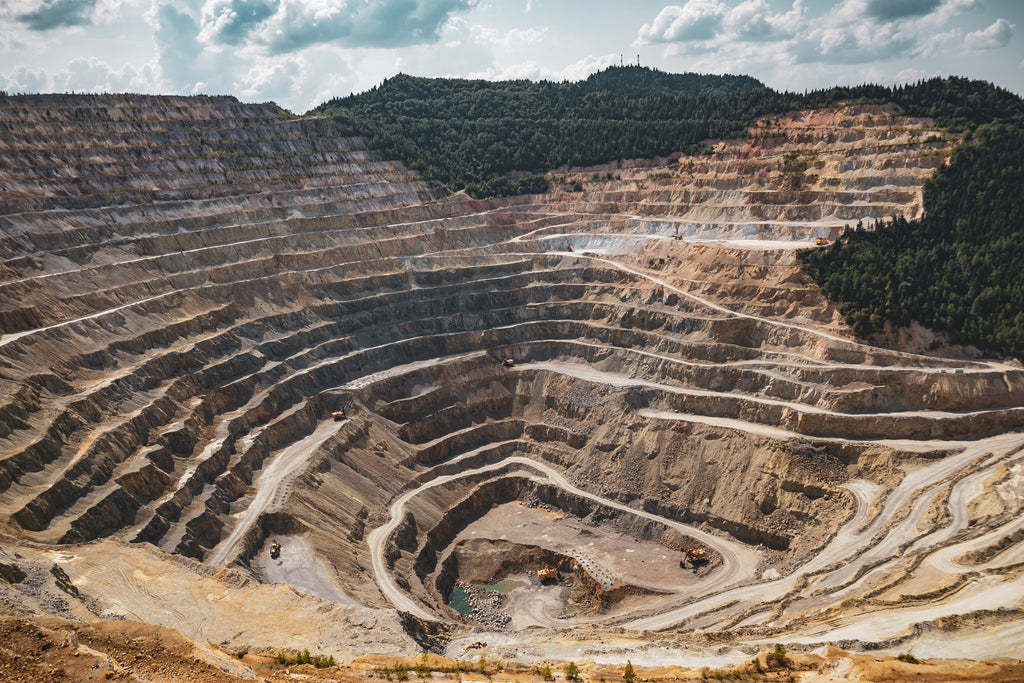 Open Pit Mining for Magnesite