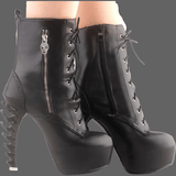 Boots talon os - Chaussures