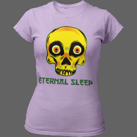 T-shirt femme Eternel Sleep - T-shirt
