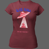 T-shirt Alerte Rouge OVNI - T-shirt