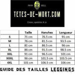Leggings tête de mort mexicaine - legging