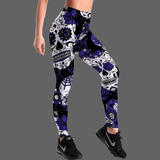 Leggings cranes mexicains - L - legging