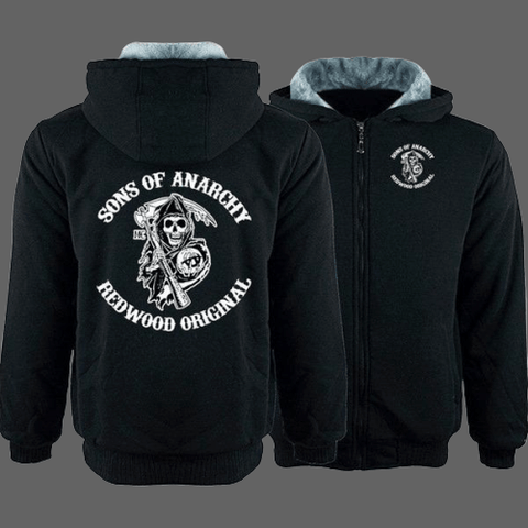 Sweat à capuche Sons of Anarchy | Tetes-de-mort.com