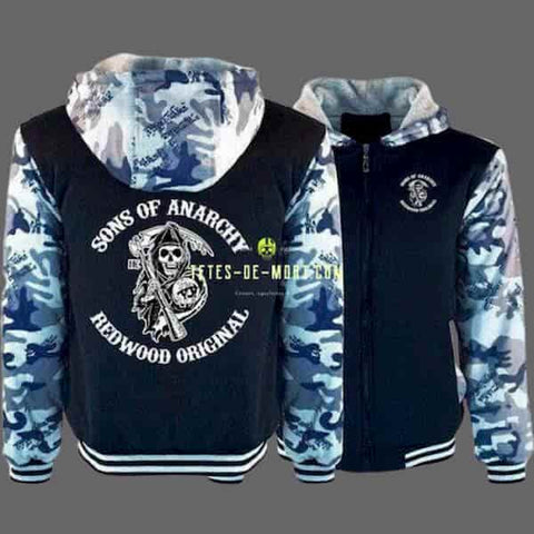 Sweat À Capuche Sons Of Anarchy Hoodies 9 / M