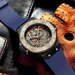 Montre crane mexicain originale - montre