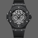 Montre crane mexicain originale - Noir - montre